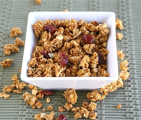 Four seasons granola recipe