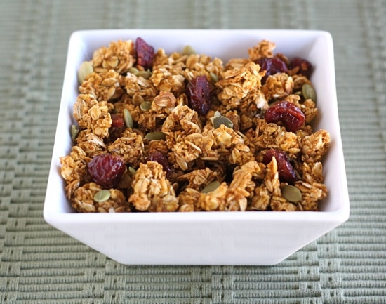 Pumpkin Granola | Two Peas & Their Pod
