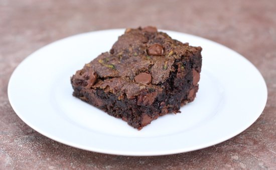 Chocolate Chip Zucchini Brownies | Two Peas & Their Pod