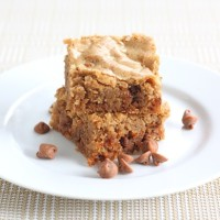 cinnamon-blondies