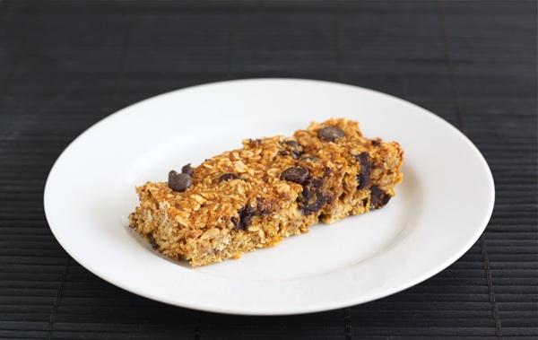 Pumpkin Chocolate Chip Granola Bars | Two Peas & Their Pod