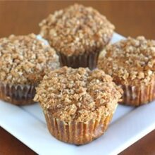 pumpkin cinnamon streusel muffin recipe