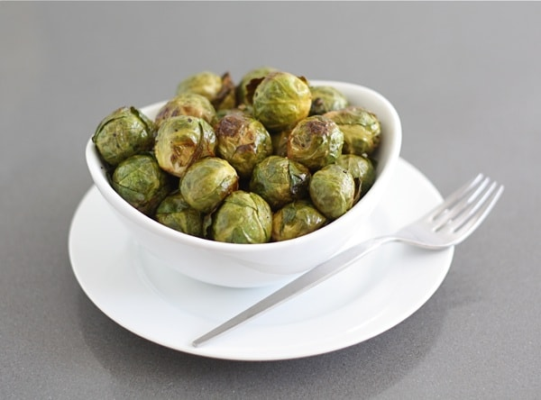 Roasted Brussels Sprouts with Balsamic Vinegar | Two Peas ...