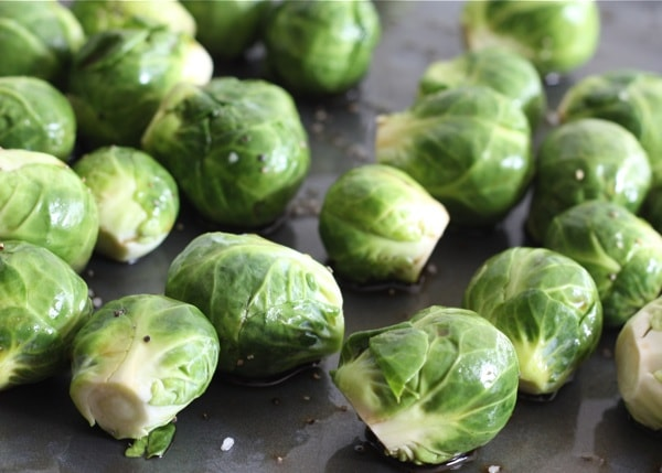 Roasted Brussels Sprouts with Balsamic Vinegar | Two Peas & Their Pod