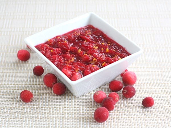 Fresh cranberry orange sauce two peas their pod for What to make with fresh cranberries