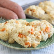 sweet potato and rosemary biscuits