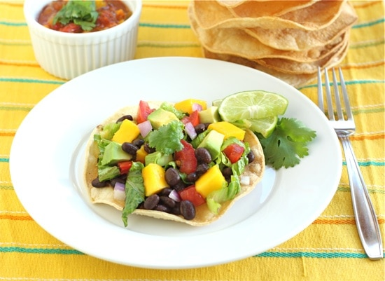black-bean-and-mango-tostadas