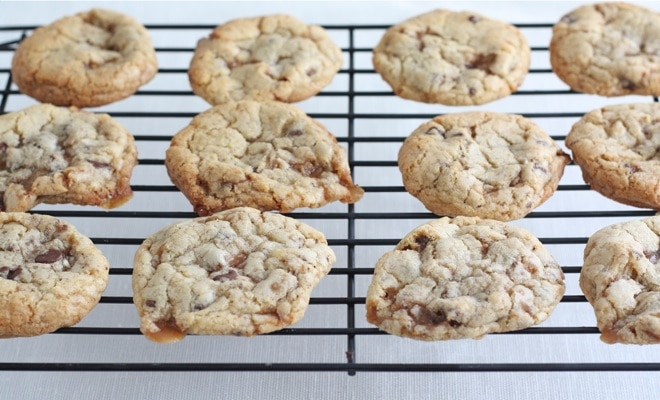 Toffee-Almond Cookies Recipes — Dishmaps