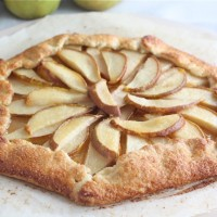 pear-galette