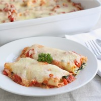 spinach-and-mushroom-cannelloni