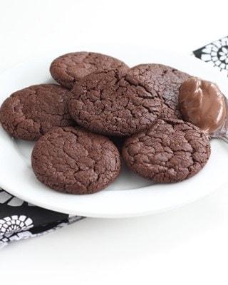 chocolate-nutella-cookies