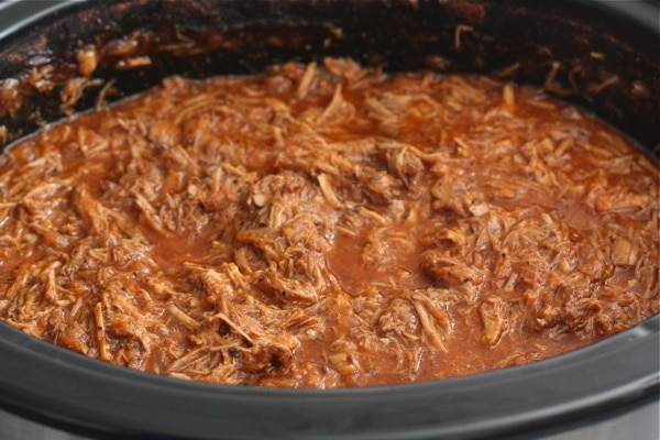 Slow Cooker Pulled Pork Sandwiches | Two Peas & Their Pod