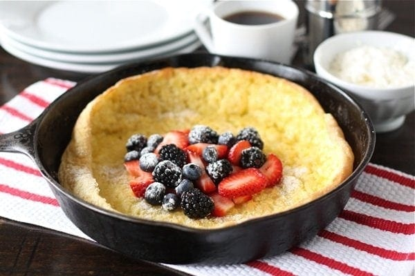 German Pancake with Berries
