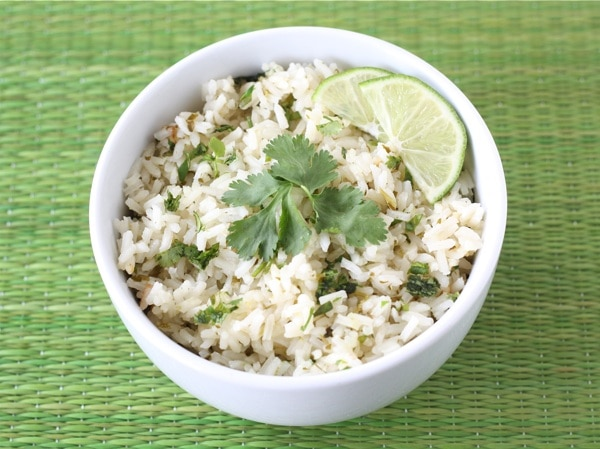 Cilantro Lime Rice | Two Peas & Their Pod