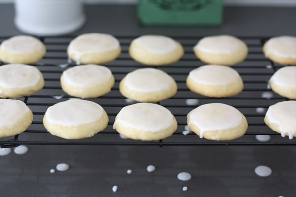 ... Glazed Lemon Cookies. I am sure they will put a smile on your face