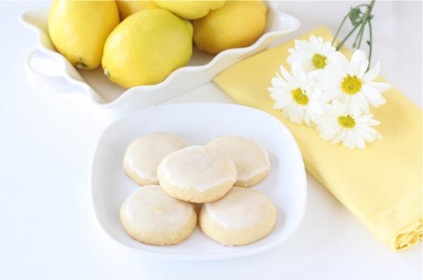 Glazed Lemon Cookies | Two Peas & Their Pod