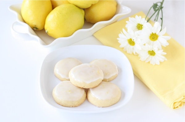 Glazed Lemon Cookies | Two Peas & Their Pod