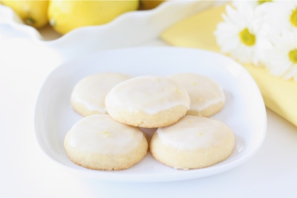 Glazed Lemon Cookies Recipe — Dishmaps