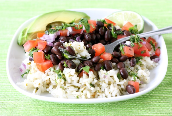 Mexican Rice Bowl | Two Peas & Their Pod