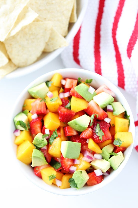 Strawberry Mango Salsa Recipe