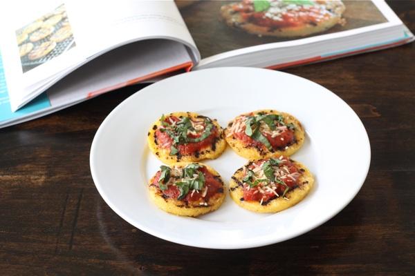 Grilled Polenta Cakes | Two Peas & Their Pod