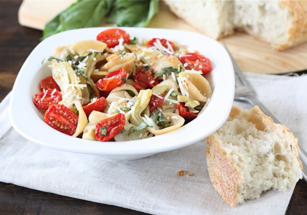 Orecchiette with Slow Roasted Tomatoes & Artichokes | Two Peas & Thei...