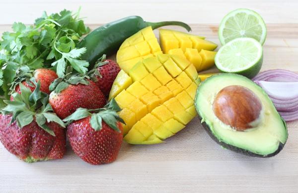 Strawberry Mango Salsa Recipe | Two Peas & Their Pod