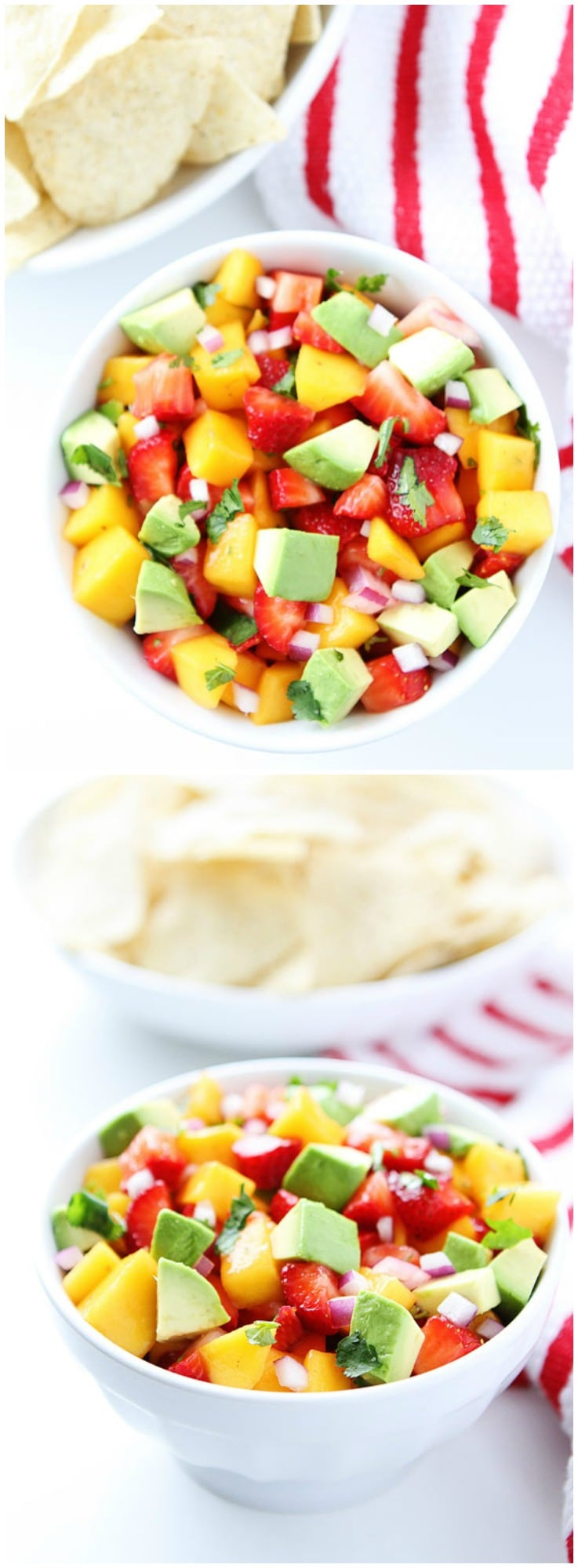 Strawberry Mango Salsa Recipe on twopeasandtheirpod.com Love this ...