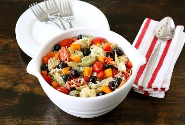 Tortellini Salad Recipe   Two Peas and Their Pod   Two Peas & Their ...