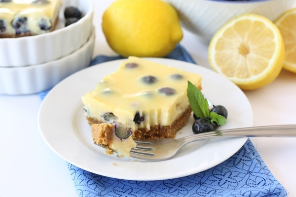 Lemon Blueberry Bars from Two Peas & Their Pods [Recipe Round-Up at A Little Seed Grows]