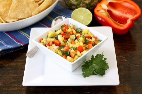 Pineapple Salsa Recipe   Two Peas & Their Pod