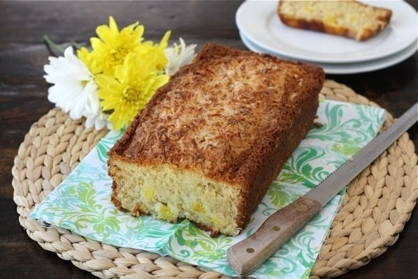 Coconut Pineapple Bread Recipe | Two Peas & Their Pod