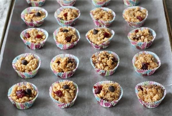 peanut butter granola balls print recipe yield 24 granola balls
