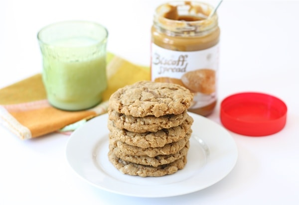 Biscoff Oatmeal Cookies Recipe — Dishmaps