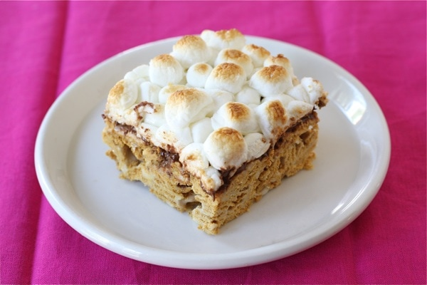 Golden Grahams S'mores Bars | Two Peas & Their Pod