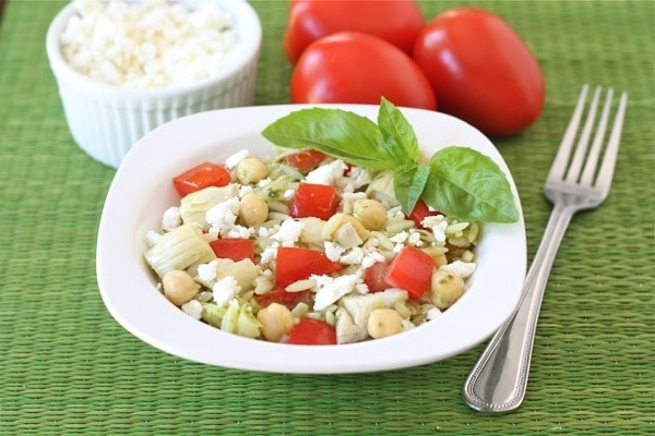 tahini buttermilk dressing chickpeas sumac and pine nuts orzo salad ...