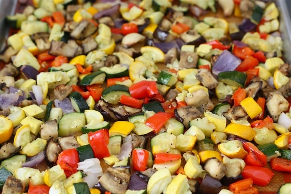 Roasted Vegetable Couscous Salad Yellow Green Farmers Market In