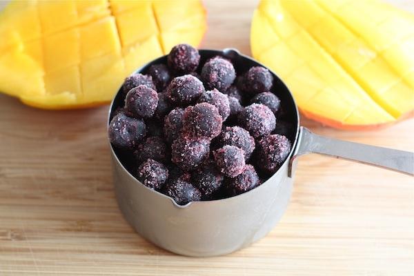 Blueberry Mango Smoothie Recipe | Two Peas & Their Pod