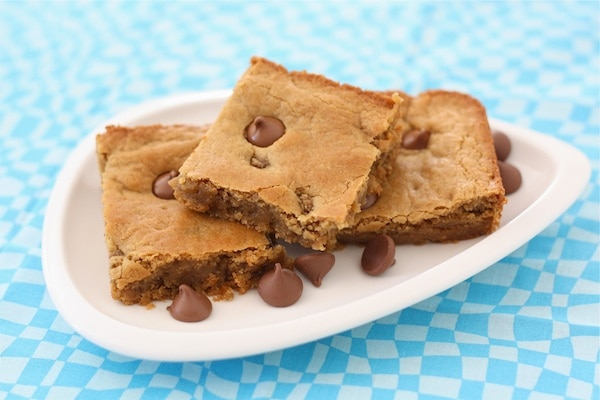 ... Peanut Butter Chocolate Chip Blondies. I can't wait to make them