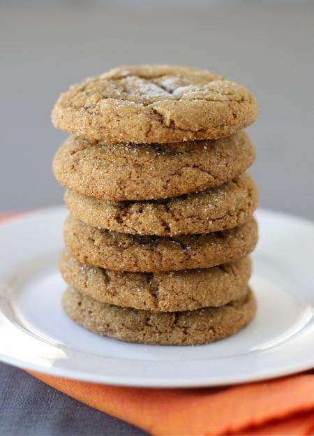 Pumpkin Gingersnap Cookies | Gingersnap Cookie Recipe | Two Peas ...