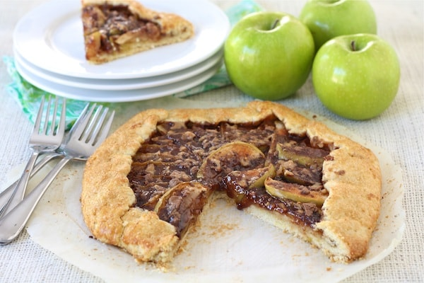 Apple Toffee Galette Recipe | Two Peas & Their Pod