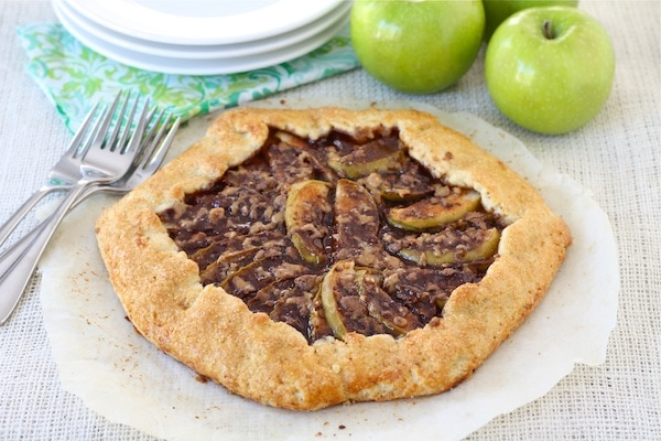 Apple, Pear, And Quince Galette Recipe — Dishmaps