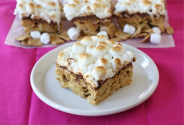 Golden Grahams S'mores Bars -Josh created these S'mores bars ...