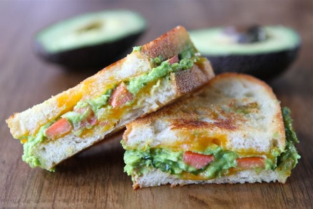 Guacamole Grilled Cheese Sandwich | Grilled Cheese Recipe | Two Peas ...
