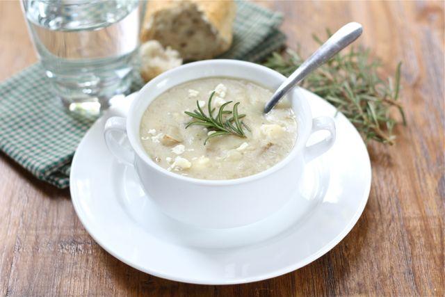 Potato Rosemary Soup Recipe | Potato Soup Recipe | Two Peas & Their ...