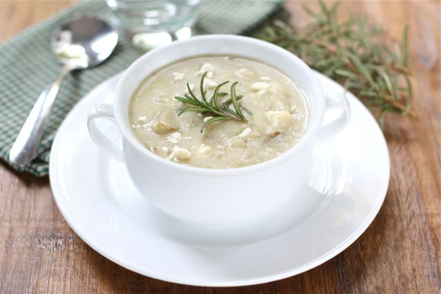 Potato Rosemary Soup Recipe | Potato Soup Recipe | Two Peas & Their ...