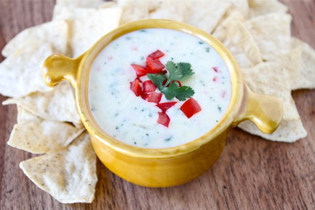Queso Dip | Queso Blanco Dip Recipe | Two Peas & Their Pod