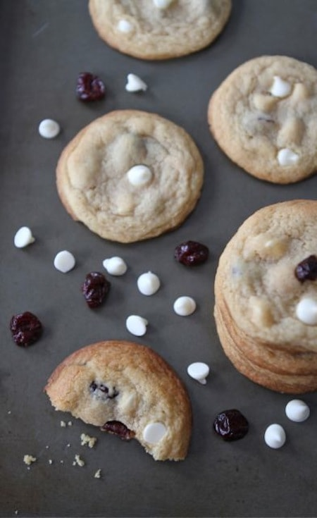 Cherry Vanilla Cookies | Pudding Cookie Recipe | Two Peas & Their Pod