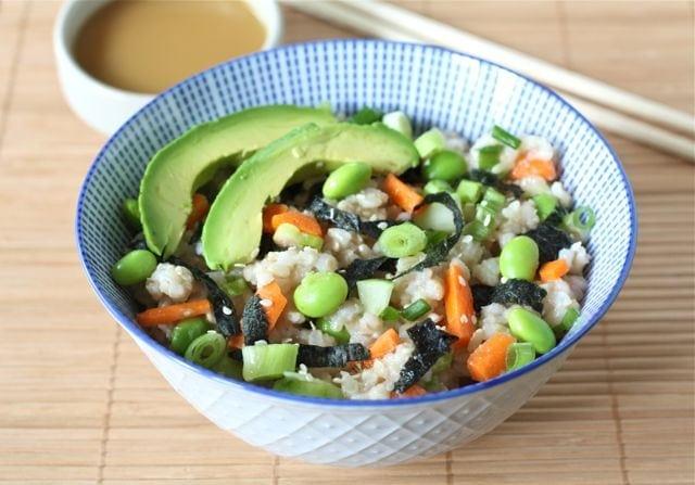 sushi bowl sushi rice quinoa sushi vegetable sushi vegetable sushi ...