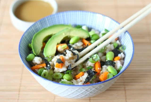 Sushi Salad Recipe | Two Peas & Their Pod